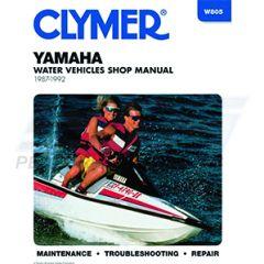 W805 : YAMAHA 500 / 650 87-92 SERVICE MANUAL