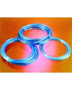3/8'' Blue Polyurethane Water Line Hose 50ft