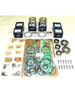 100-49-115 : MERCURY / MARINER 110-175 HP 2.5L DFI .015 OVER POWERHEAD REBUILD KIT