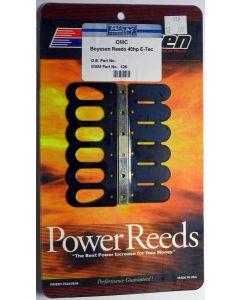 126 REEDS : EVINRUDE 40-65 HP E-TEC