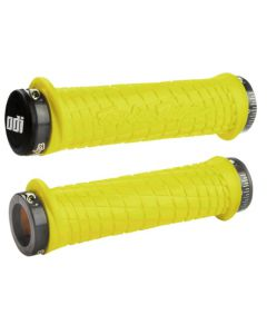D30TLY-G ODI / TROY LEE DESIGNS SIGNATURE SERIES LOCK-ON GRIPS - YELLOW