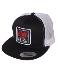 G01HTB : ODI HEATER TRUCKER HAT BLACK/WHITE