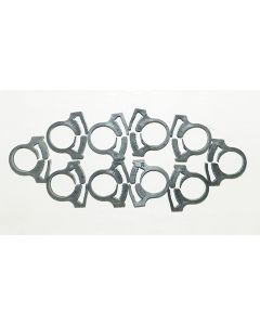 Snapper Clamp (priced Per Pkg Of 10)