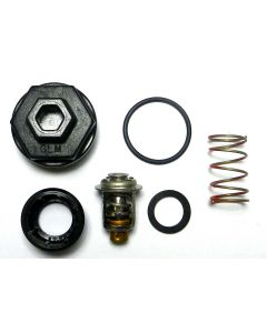 Thermostat Kit 90 Degree V6 Off Shore W/ Sleeve