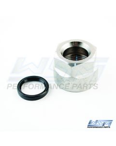 850-350N : YAMAHA 200 - 300 HP 90-10 CRANKSHAFT BALANCER NUT