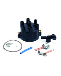I/O Dist. Cap, Rotor, Points & Condenser, V6 Prestolite