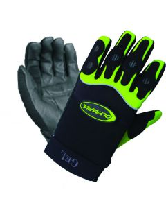 Gel Glove, Green/Large