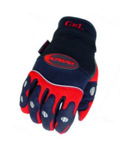 Gel Glove, Red/Medium