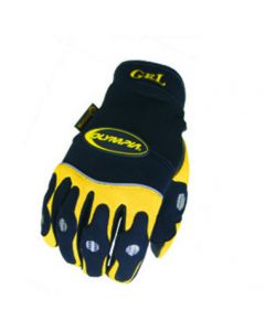 Gel Glove, Yellow/Medium