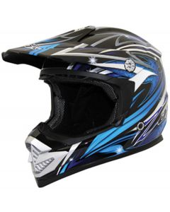Helmet: Rush Fiction MX Blue