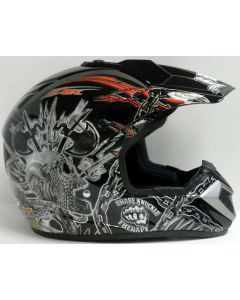 Helmet: Stadium MX Red