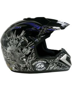 Helmet: Stadium MX Blue