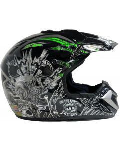 Helmet: Stadium MX Green