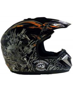 Helmet: Stadium MX Orange