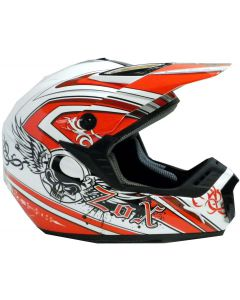 Helmet: Roost X Gothic White/Red