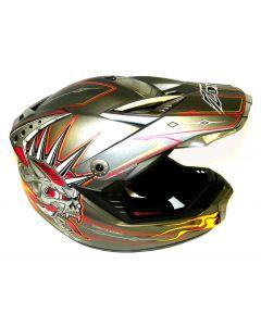 Helmet: Attack Calamity Matte/Red