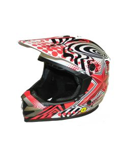 Helmet: Rush/Star MX Red
