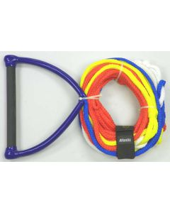 Rope, 75' Deluxe 4/section With Handle