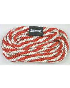 Docking Line, 12', Red / White
