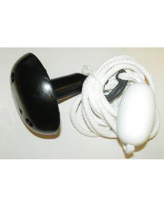 Mushroom Anchor Kit, 8 lb , White