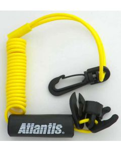 Standard Lanyard, Multi End, Non Dess, Yellow