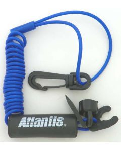 Standard Lanyard, Multi End,  Non Dess, Blue