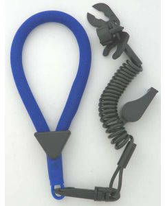 Wrist Lanyard, Multi End, Non Dess, Blue / Black