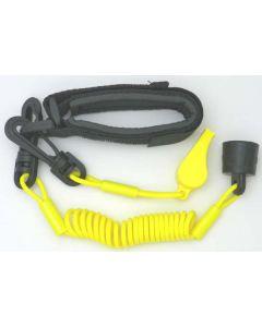 Sea-Doo Pro Wrsit Lanyard Dress With Whistle, Yellow