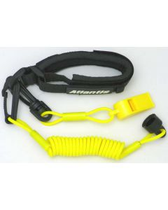 Sea-Doo Pro Wrsit Lanyard Non Dress With Whistle, Yellow