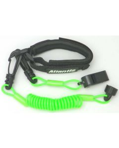 Sea-Doo Pro Wrsit Lanyard Non Dress With Whistle, Green