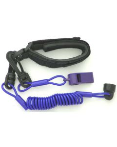 Sea-Doo Pro Wrsit Lanyard Non Dress With Whistle, Purple