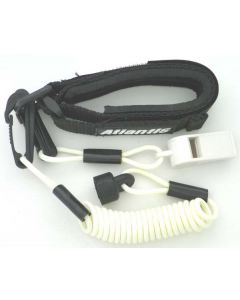 Sea-Doo Pro Wrsit Lanyard Non Dress With Whistle, White