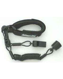 Sea-Doo Pro Wrist Lanyard Dess With Whistle, Black