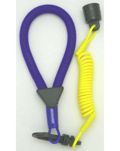 Sea-Doo Wrist Lanyard Dress, Yellow / Purple