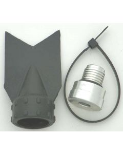 A8025 Drain Plug Kit, Duckbill: Yamaha 580 - 1800 87-17