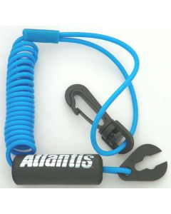 A8122 Yamaha Standard Lanyard, Light Blue