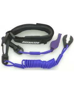 Yamaha Pro Wrist Lanyard With Whistle, Purple