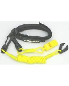 Yamaha Pro Wrist Lanyard With Whistle, Yellow