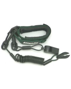 Yamaha Pro Wrist Lanyard With Whistle,  Forest Green
