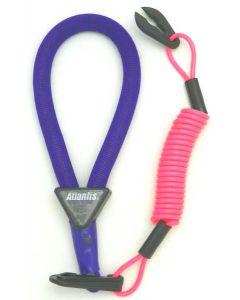 Yamaha Wrist Lanyard, Purple / Pink