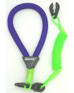 Yamaha Wrist Lanyard, Purple / Green