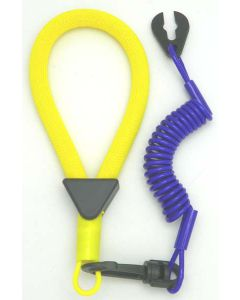 Yamaha Wrist Lanyard, Yellow / Purple