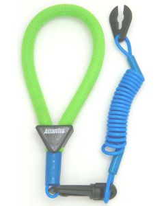 Yamaha Wrist Lanyard, Green / Light Blue