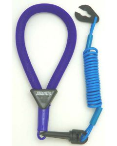 Yamaha Wrist Lanyard, Purple / Light Blue