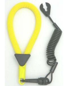 Yamaha Wrist Lanyard, Yellow / Black