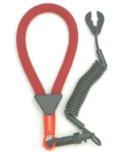 Yamaha Wrist Lanyard, Red / Black