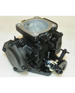Carburetor with  Extended Throttle Shaft