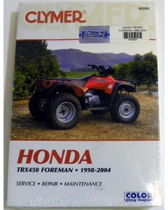 Honda 450 TRX Shop Manual