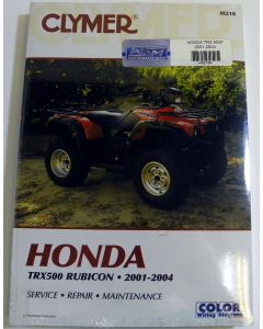 Honda 500 TRX Shop Manual