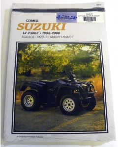 Suzuki 500 LT Shop Manual